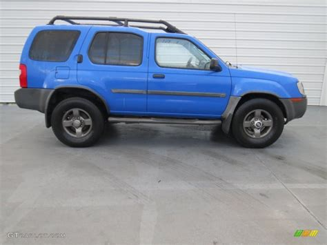 shock blue 2002 nissan xterra se v6 exterior photo 73954337 gtcarlot