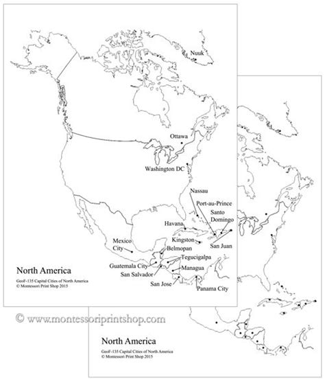 printable us map with capital cities 17 best study of north america images on pinterest north