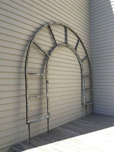 Arched Trellis For Sale Estate Sized Steel Arched Arbor Or Trellis For Sale