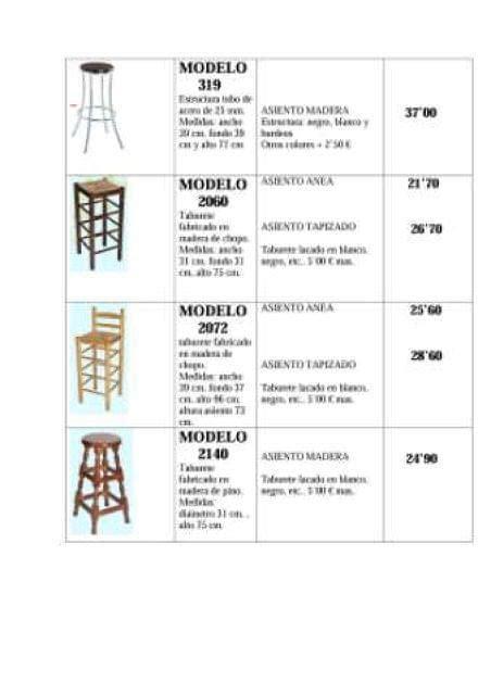 mesas cocina madera maciza sillas milanuncios