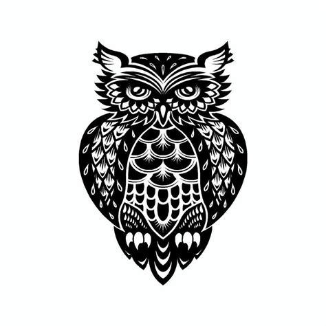 Auto Sticker Eule by Owl Tribal Vinyl Car Sticker Car Stickers And Owl