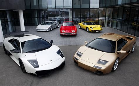 Different Lamborghini Models Different Lamborghinis Wallpapers And Images Wallpapers