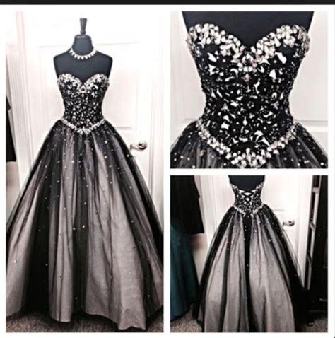 Dress Sweety Black dress prom dress black tulle prom dress lace appliques