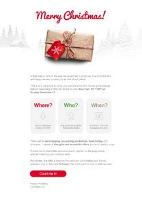 holiday newsletter templates email marketing getresponse