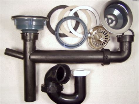 kitchen sink drain kit mobile home repair