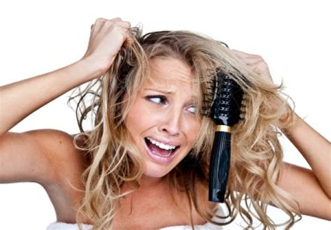 get rid of tangled hair problems what needs