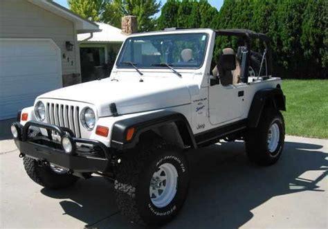 does jeep wrangler ride smoothly jakebisbicos 1997 jeep wranglersport utility 2d specs