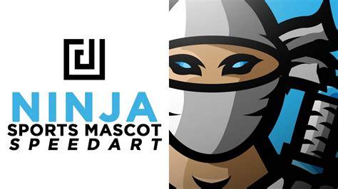 adobe illustrator ninja tutorial ninja sports esports mascot logo speedart adobe