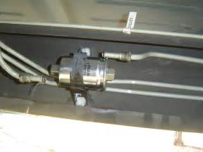 changing out fuel filter on 2002 silverado truck forum