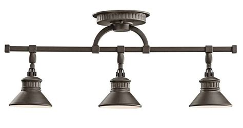Track Light Fixture Brass Track Lighting Feel The Home