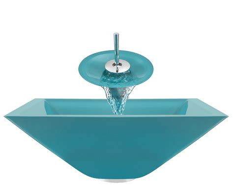 colored bathroom sinks 603 turquoise colored glass vessel sink