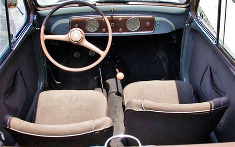 fiat 500 custom interior the mouse 1951 fiat 500 topolino
