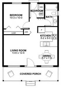 One Bedroom Cabin Plans Cottage House Plan 99971