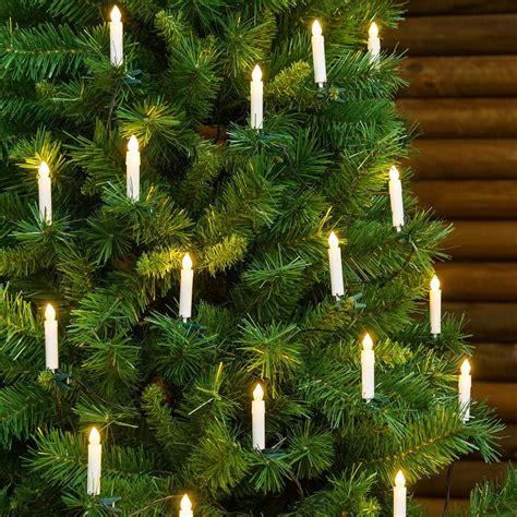 guirnalda de 20 velas led con clip para 225 rbol de navidad