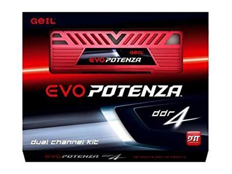 Ram Geil Ddr3 Evo Potenza 8gb compare geil evo potenza 8gb 2x4gb 288 pin ddr4 2133 vs g skill 16gb 2x8gb ddr3 1600mhz