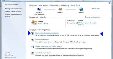 membuat jaringan menggunakan wifi membuat jaringan peer to peer menggunakan wifi internal