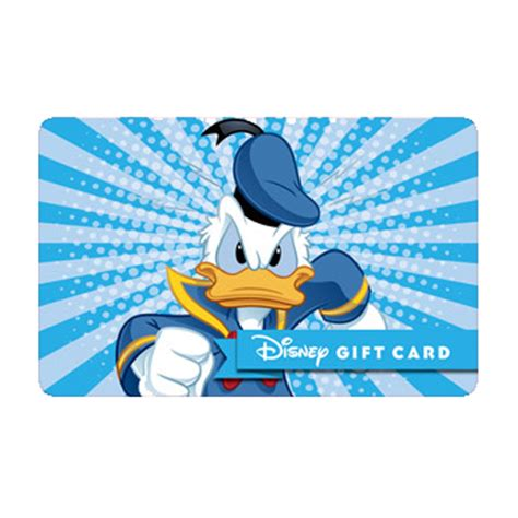 Bam Gift Card - your wdw store disney collectible gift card fab 5 bam donald