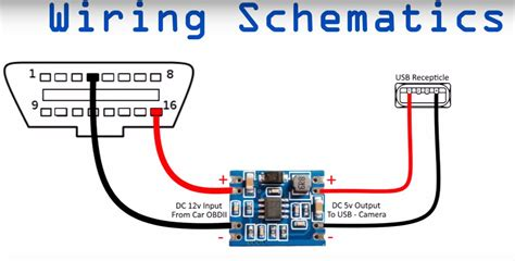 obd2 to usb wiring diagram obd2 connector pinout diagram