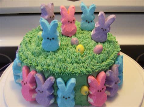 peeps cake cakecentralcom