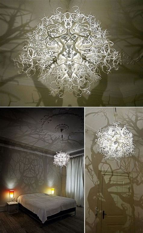 Chandelier That Turns Your Room Into A Forest 30 Creative Diy Ls And Chandeliers You Can Make Using Everyday Objects Page 2 List Inspired