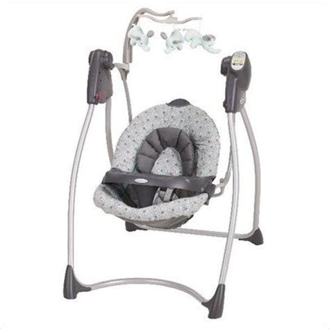 plug in baby swing graco circa lovin hug plug in infant swing 119 99