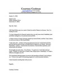 how to write a finance cover letter finance cover letter