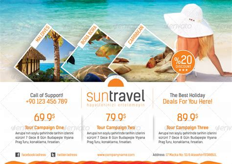 tour template travel tours flyer templates by grafilker graphicriver