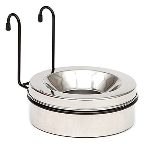 spill proof bowl buy mim safe variogate spill proof water bowl with hanger from bed bath beyond