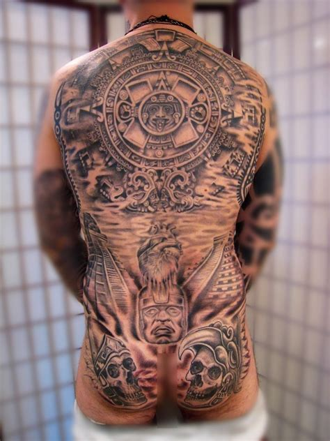 sundial tattoo cool mayan by kris smith 刺青 mayan