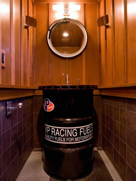 garage bathroom ideas bath sink garage