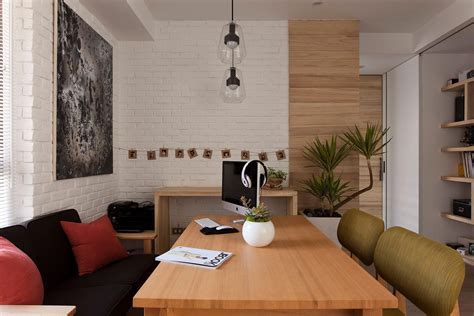 Home Office In Dining Room Living Room Office Dining Room Decosee