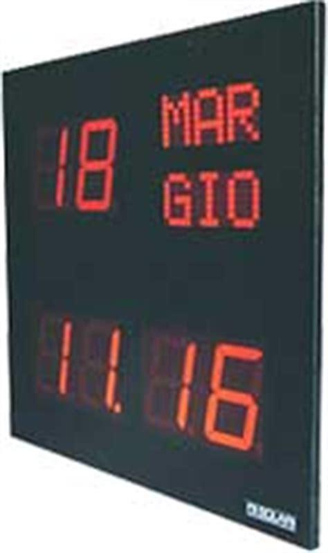 banche dati cdl orologio datario orologi industriali con mino carpanini