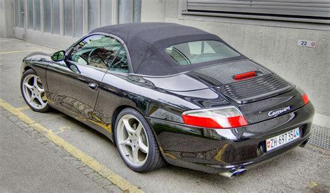 porsche 911 convertible black datei porsche 911 4 convertible type 996 black jpg