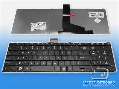 Keyboard Laptop Toshiba Satellite C850 toshiba satellite c850 l850 keyboard black v000271010 laptops keyboard total solution of