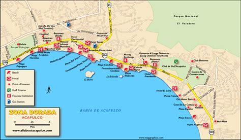 map of mexico acapulco acapulco map adriftskateshop