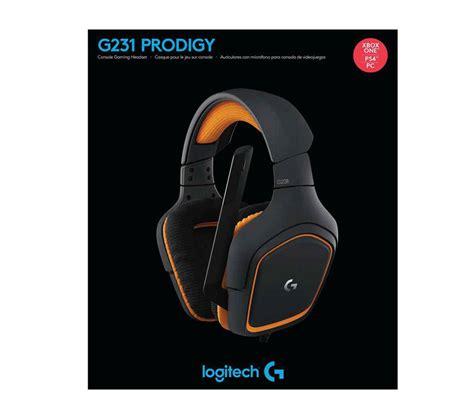 Logitech Prodigy Gaming Headset logitech g231 prodigy gaming headset free shipping south africa