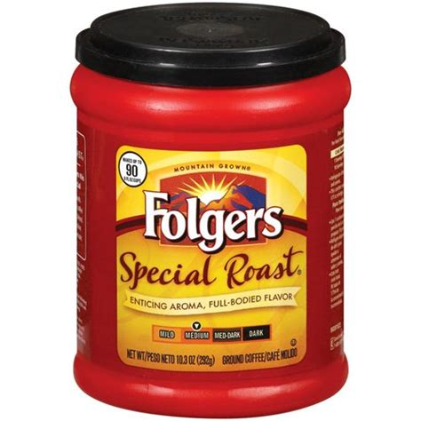 Folgers Special Medium Roast Ground Coffee, 10.3 oz   Walmart.com