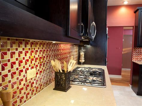 Kitchen Backsplash Ideas With Cream Cabinets glass tile backsplash ideas pictures amp tips from hgtv hgtv