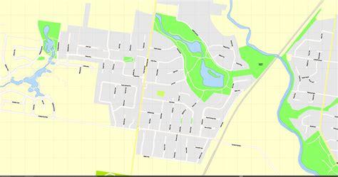 Printable Map Geelong | geelong printable map australia exact vector street map