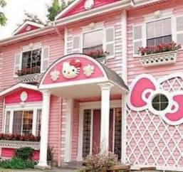 hello kitty house pink hello kitty house think pink pinterest