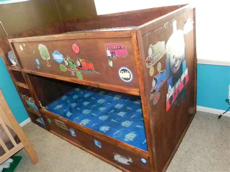 train bunk bed ana white quot thomas quot train bunk bed diy projects