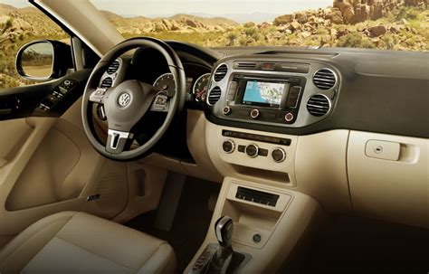2014 Volkswagen Tiguan Interior by 2014 Vw Tiguan R Line Sporty Yet Supple Review The