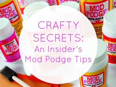 How To Decoupage With Mod Podge - decoupage tips and tips and tricks on