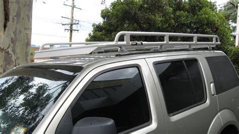 Nissan Pathfinder Roof Rack by Nissan Pathfinder R51 Roof Racks