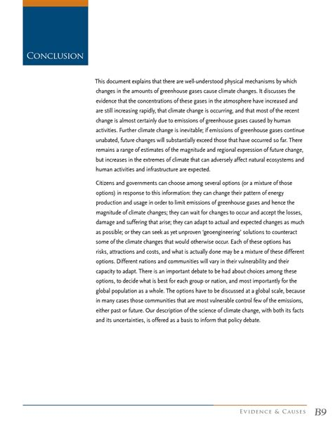 research paper of global warming research paper about global warming conclusion