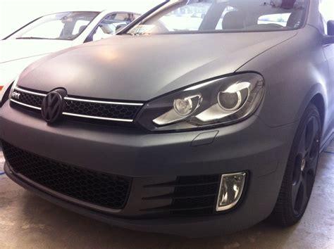 i woke up in a new bugatti clean version matte white plasti dip whole car vw gti mkvi forum vw