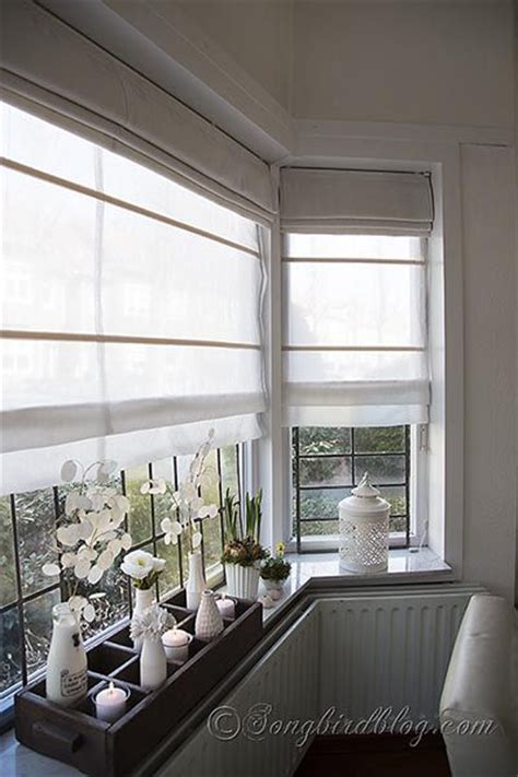 how mary layered roman blinds and curtains in her bedroom pinterest the world s catalog of ideas