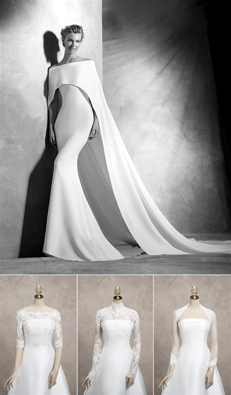 Wedding Dress Jackets Uk by Sleeved Wedding Dresses For Autumn And Winter