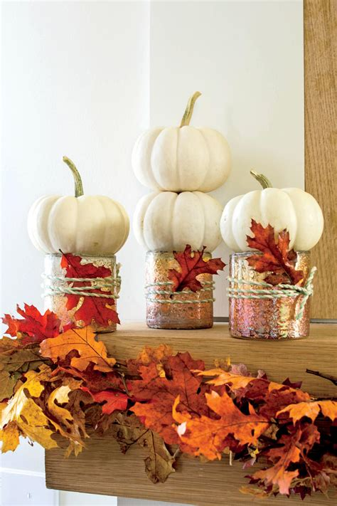 simple fall table decoration ideas fall decorating ideas southern living
