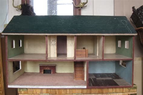Handmade Wooden Dollhouse - vintage xl handmade solid wooden dollhouse 2 by vintaqueous